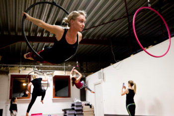 Aerial hoop workshop