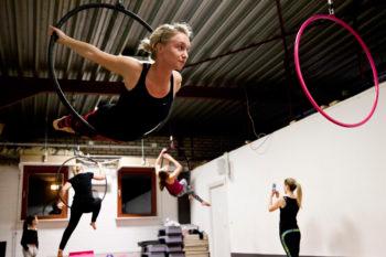 Aerial hoop workshop