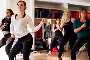 Disco dance workshop