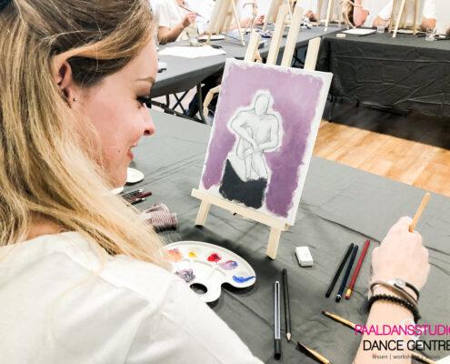 Workshop Naaktschilderen